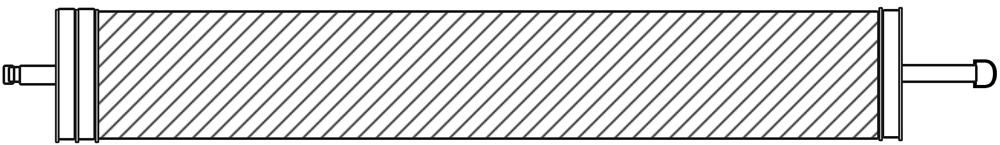 AMI PVDF UF Membrane Element Style 2