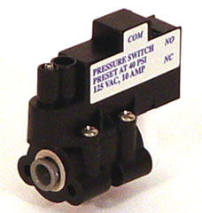 Aquatec Tank Pressure Shut-Off Switch