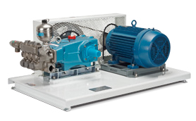 CAT High Pressure Pump Power Unit