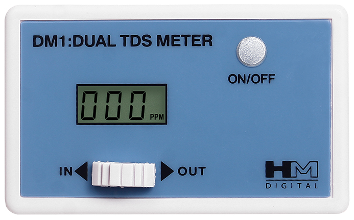 DM-1 Dual Inline TDS Monitor