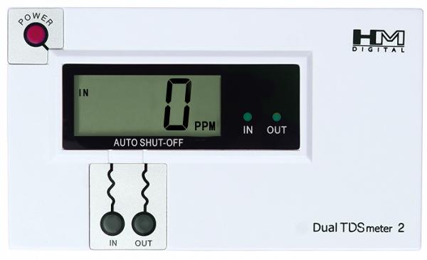 DM-2 Dual Inline TDS Monitor