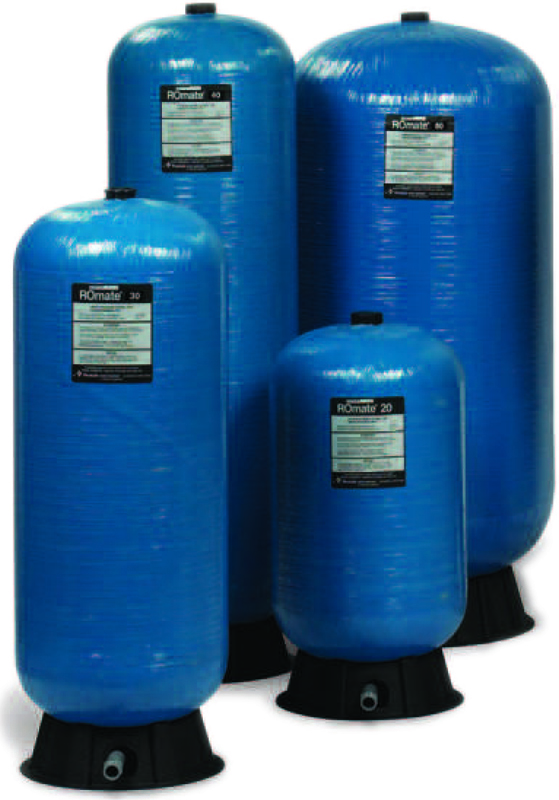 ROMate Pentair Structural pressurized water storage tanks