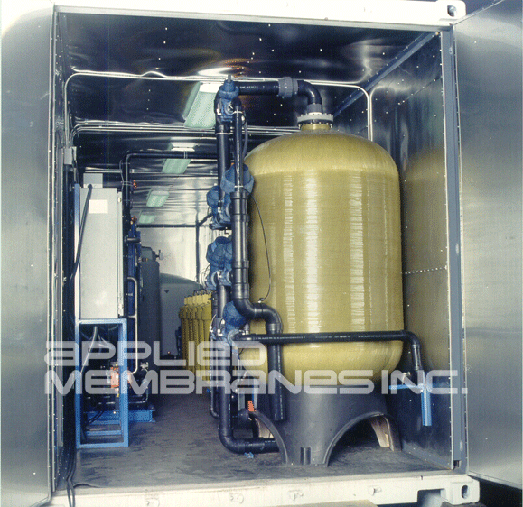 water treatment systems for ultrafiltration