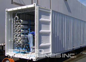 mobile reverse osmosis water treatment systems