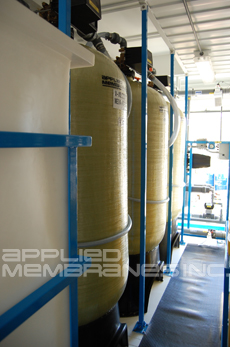 Mobile Reverse Osmosis System Media Filtration