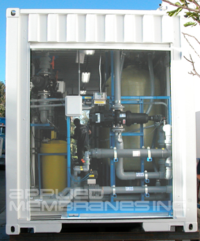Mobile Reverse Osmosis System Rollup