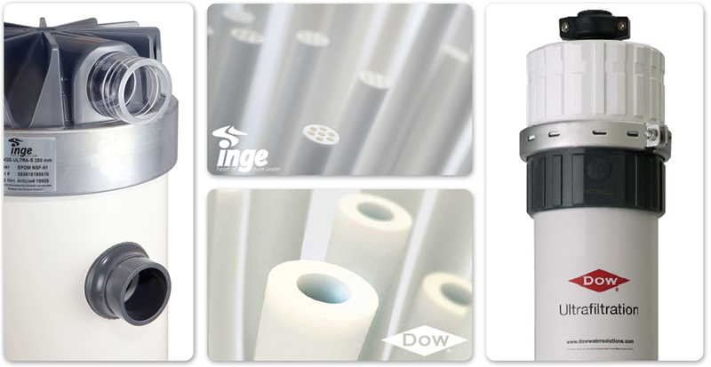 INGE Hollow Fiber Ultrafiltration Membrane Modules