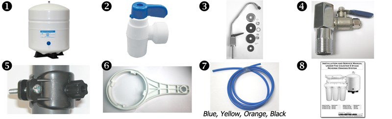 Installation Kit for Home RO Drinking Water System