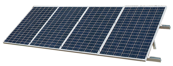 Solar Panel for Solar Powered Ultrafiltration and Reverse Osmosis Water Treatment System