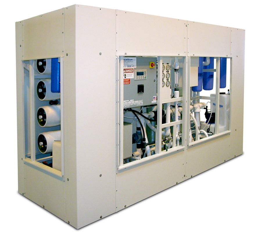 Containerized Solar Powered Ultrafiltration and Reverse Osmosis Water Treatment System