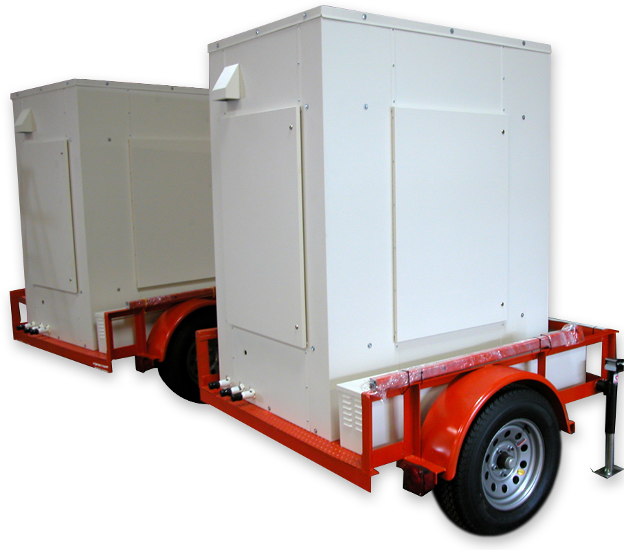 Trailer Mounted Solar Powered Ultrafiltration and Reverse Osmosis Water Treatment System