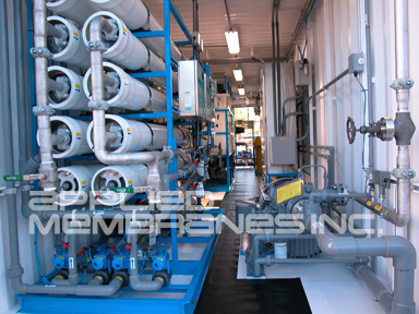 mobile water treatment systems for reverse osmosis