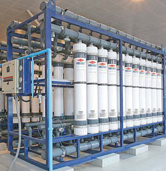 Hollow Fiber Ultrafiltration System