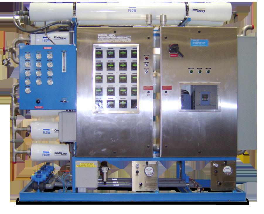 Explosion-Proof SWRO System for Offshore Platform