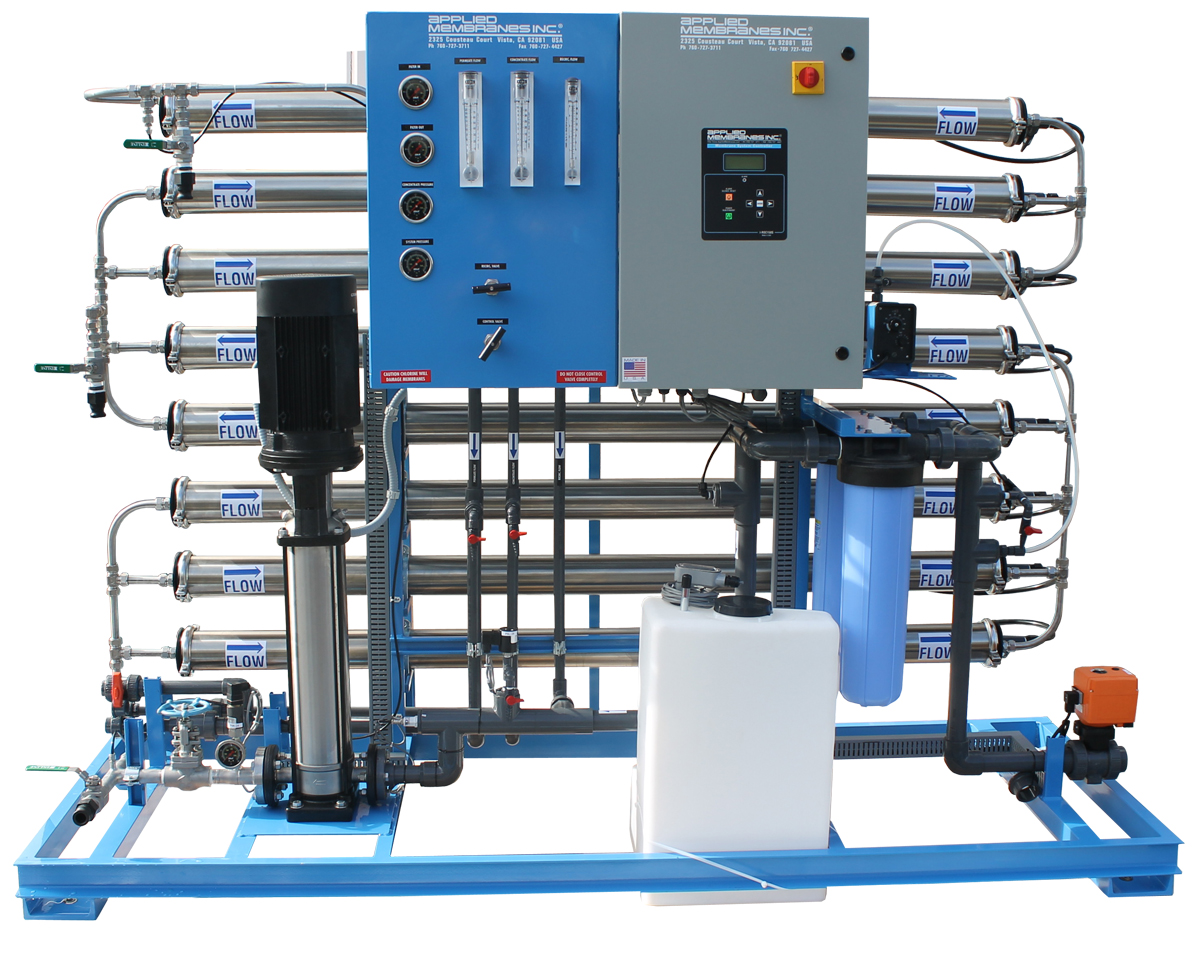 RO System for Bottled Water