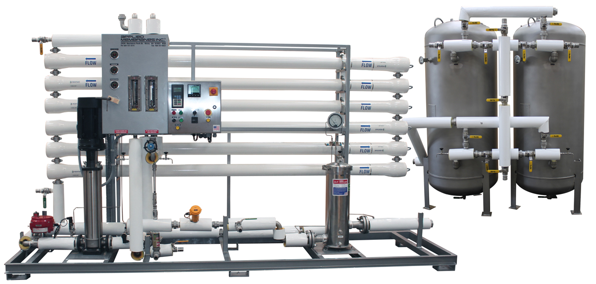 RO System for Food Processing Water