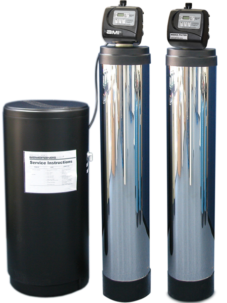 Water Softener and Media Filter for Commercial RO Systems