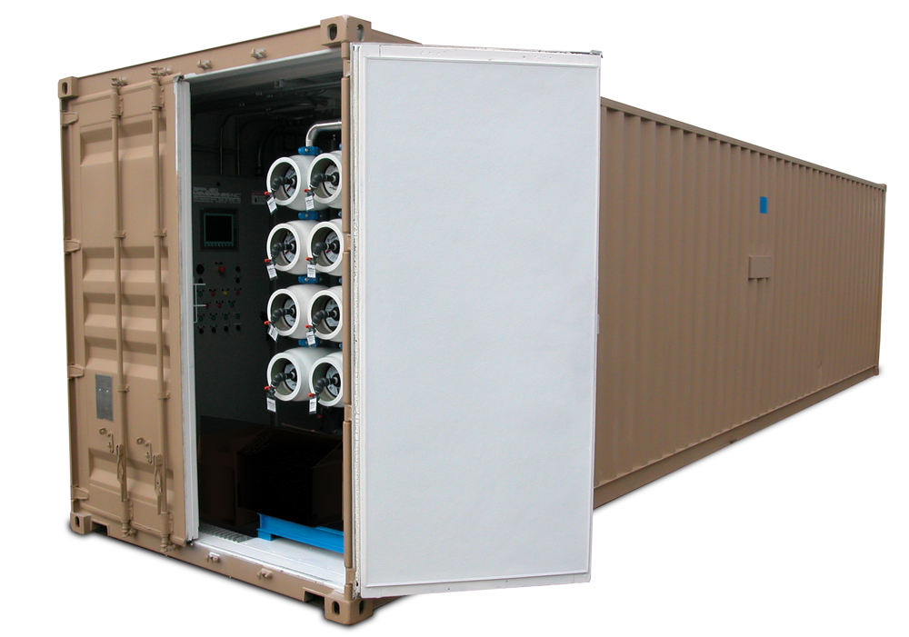 Mobile Containerized Water Treatment System for Military