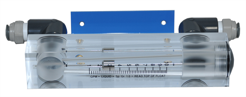 Flowmeter for Wall Mount RO Systems