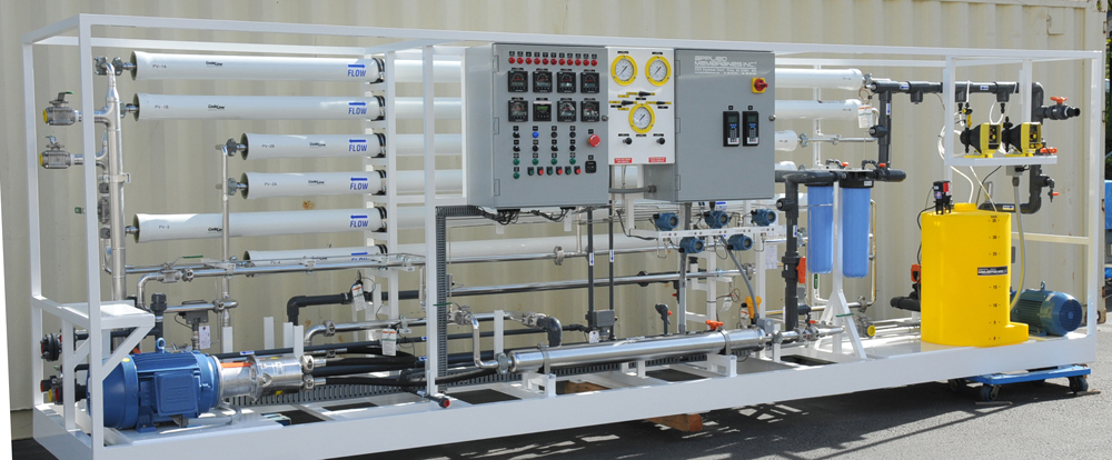 Water Treatment Pilot Plant for RO, UF, MF, NF Application Testing