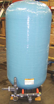 Pressurized Storage Tank for Commercial RO Systems