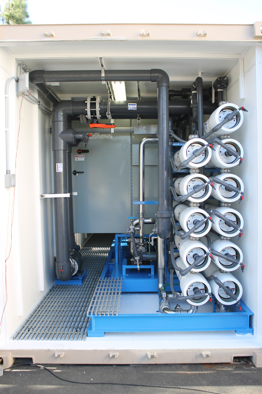 seawater mobile water treatment sytems