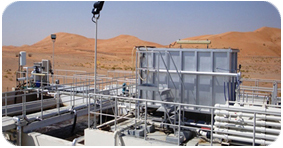 Solar Powered Water Desalination Plant