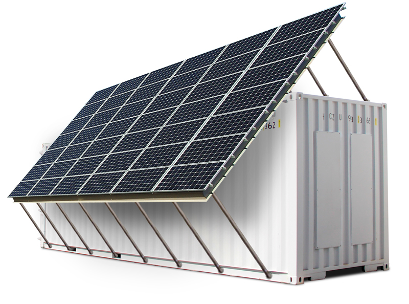 Solar Powered Reverse Osmosis System Container