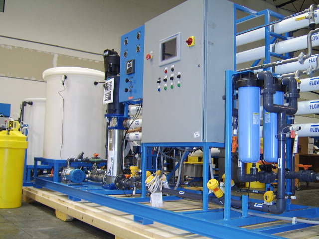 water treatment pilot plant ro, uf, mf, nf application testing