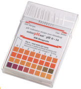 Hach 2601300 pH Color Strips