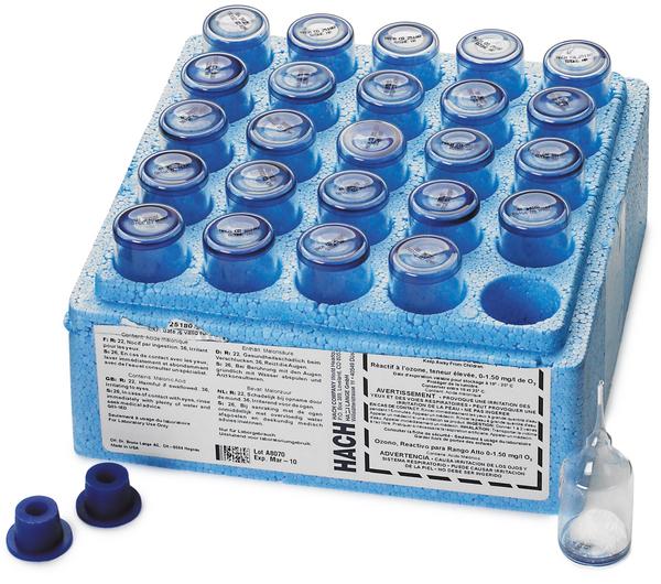 Hach 25180-25 Ozone Test Refills