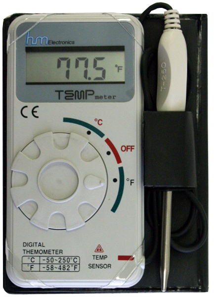 HM Digital TM-1 Electronic Thermometer for Water Temperature
