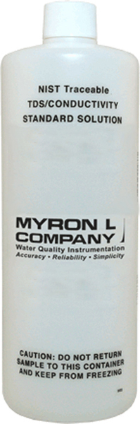 Myron L TDS Tester Calibration Solution