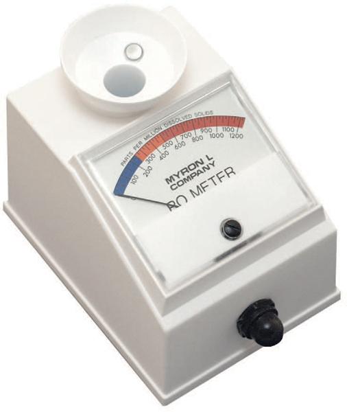 Myron L Analog RO Meter Reverse Osmosis TDS Meter RO-1