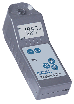 Myron L TechPro II TPH1 Water Tester for TDS and Conductivity