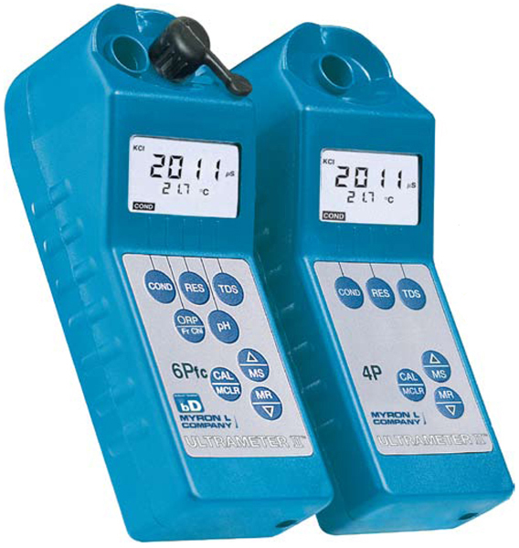 Myron L Ultrameter II Digital Water Quality Tester