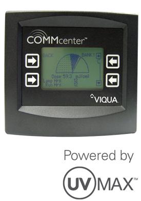 Viqua UV Max CommCenter NSF Ultraviolet System Controller