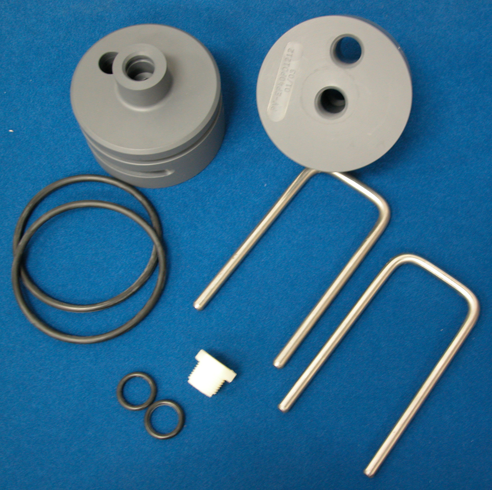 Components for PVC Pressure Vessel Membrane Housings