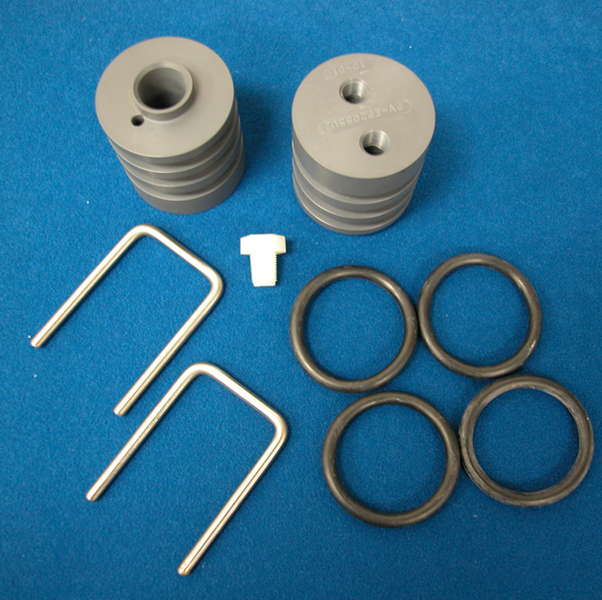 Components for Stainless Steel Pressure Vessels U-Pin Style